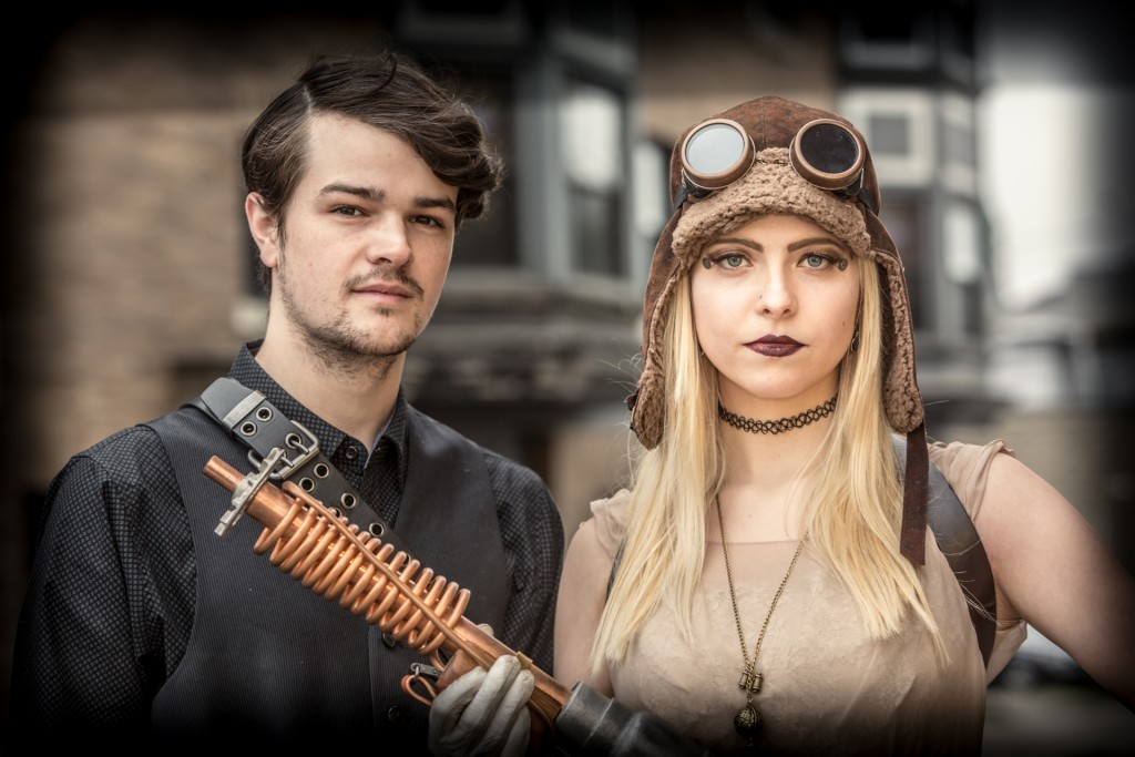 Steampunk Festival Portrait Photo Workshop Waltham MA