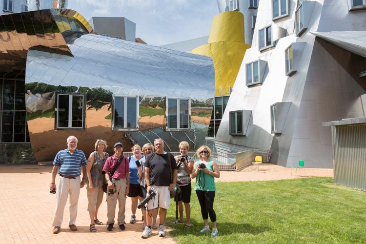 MIT Stata Center workshop group